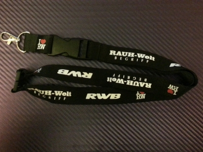 RAUH-Welt BEGRIFF Lanyard with Safety Clip